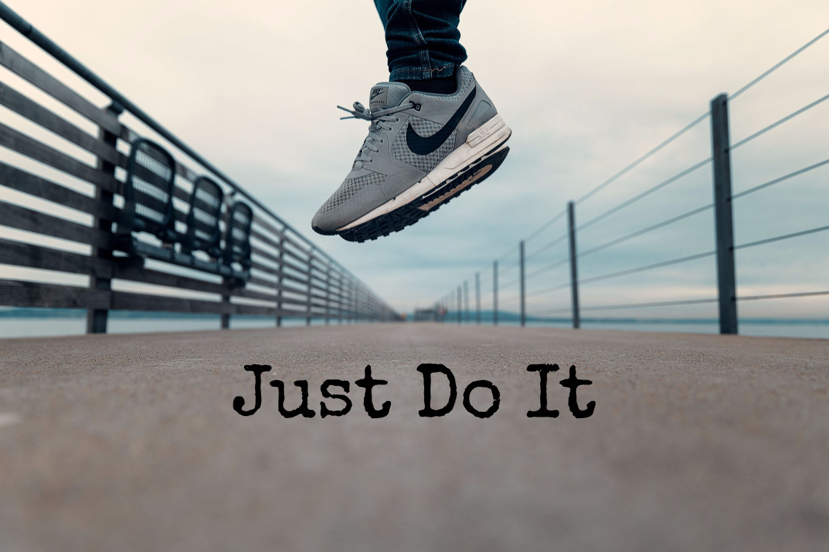 life, dream, nike, just do it