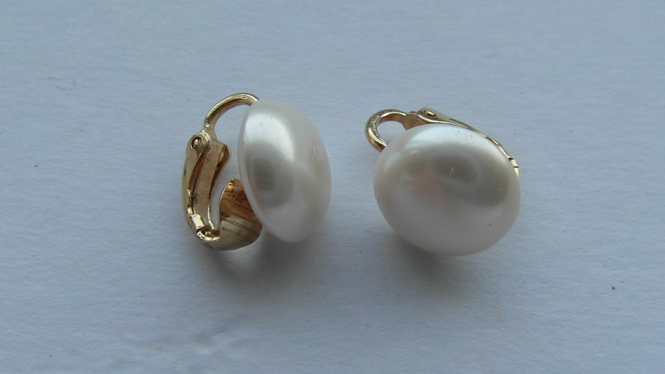 accessories, pearl, earrings, back to school