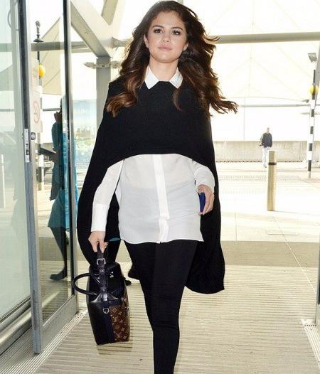 leggings, shirt, selena gomez, beauty, hair, eyes, gorgeous