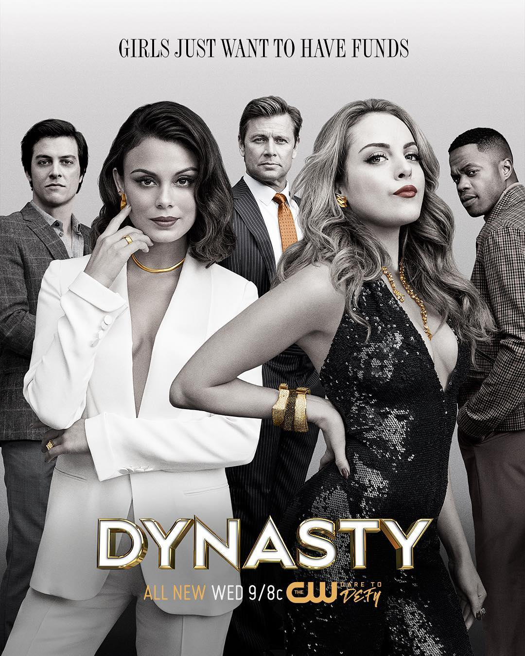 dynasty, dynasty show, shows, netflix, show recommendations, elizabeth gillies, nathalie